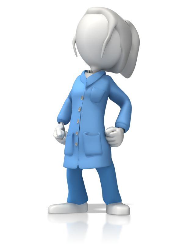 Clipart - ESD Lady Proud