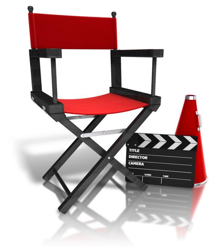 Clipart - Movie Directors Equipment