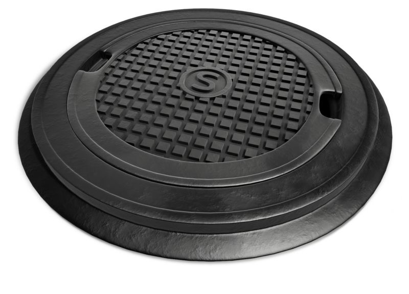 Clipart - Top Lid Of Sewer