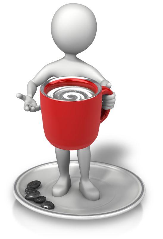 Clipart - Coffee Break Swirl