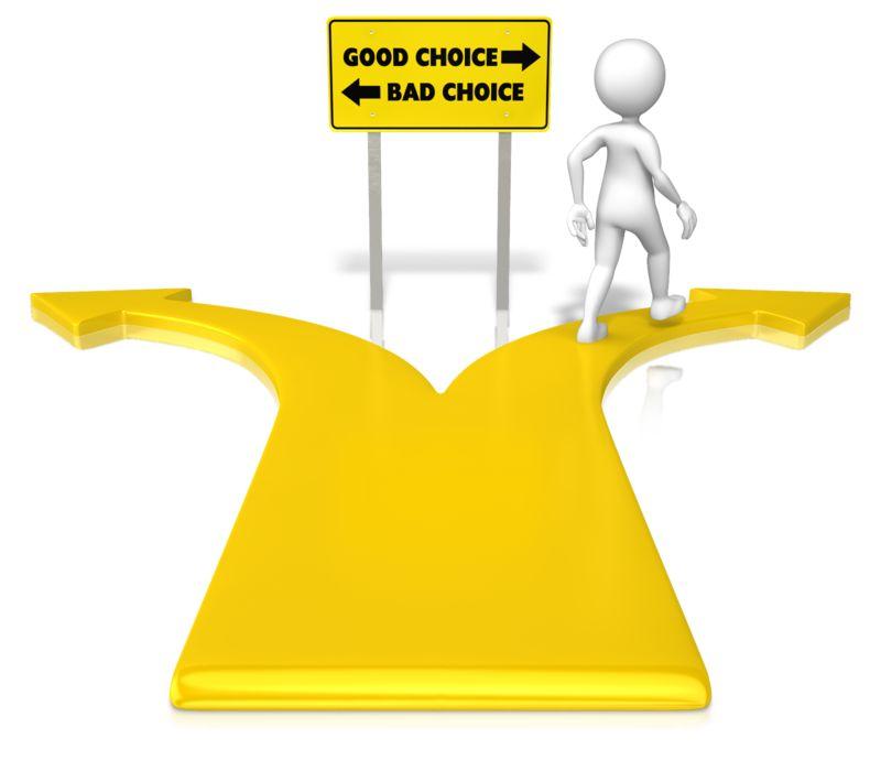 Clipart - Figure Good Choice