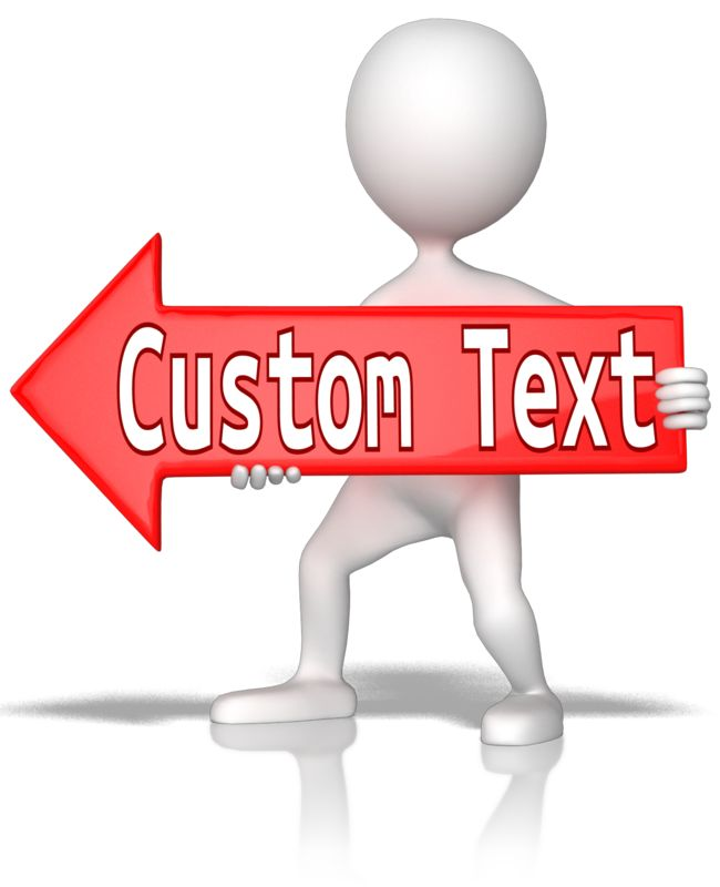This Presentation Clipart shows a preview of Custom Red Arrow Left