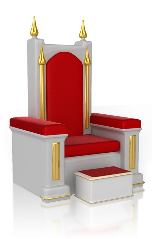 Clipart - Throne