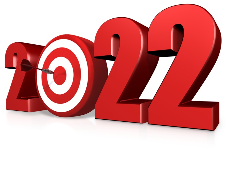 This Presentation Clipart shows a preview of Custom Year Bullseye