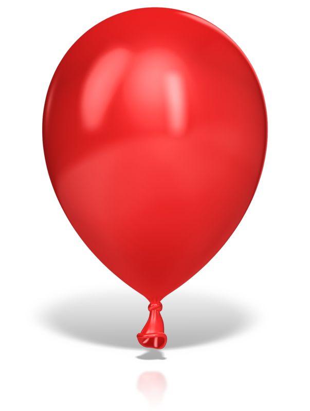 Clipart - Single Large Balloon