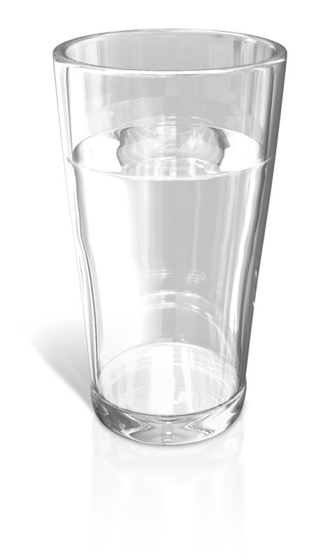 Clipart - Glass of Water