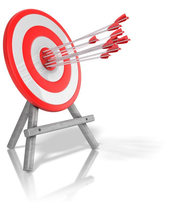 Clipart - Arrow Target Accuracy