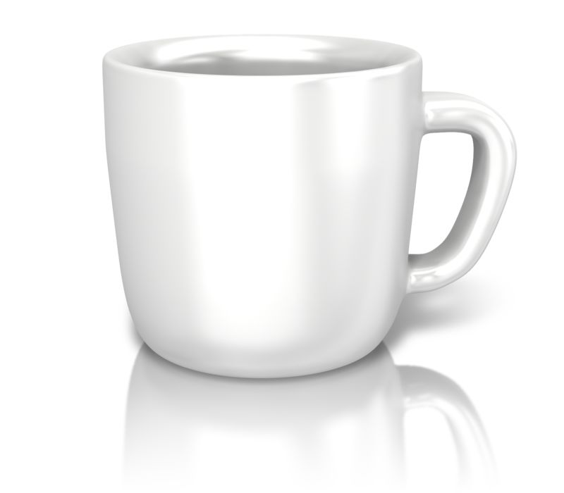 Clipart - Single Coffee Cup
