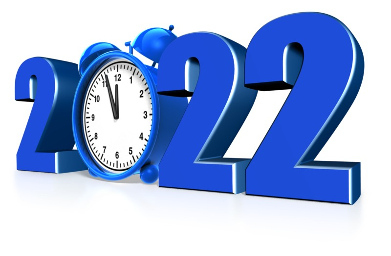 A clock is shown in the middle of this custom text year piece. <br><br> Note*  You can change the last two digets in the year by using our online text customizer.
