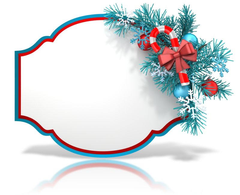 Clipart - Festive Christmas Shape