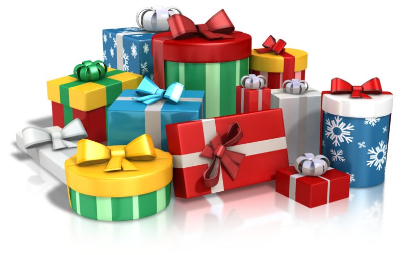 Clipart - Lots Of Gifts