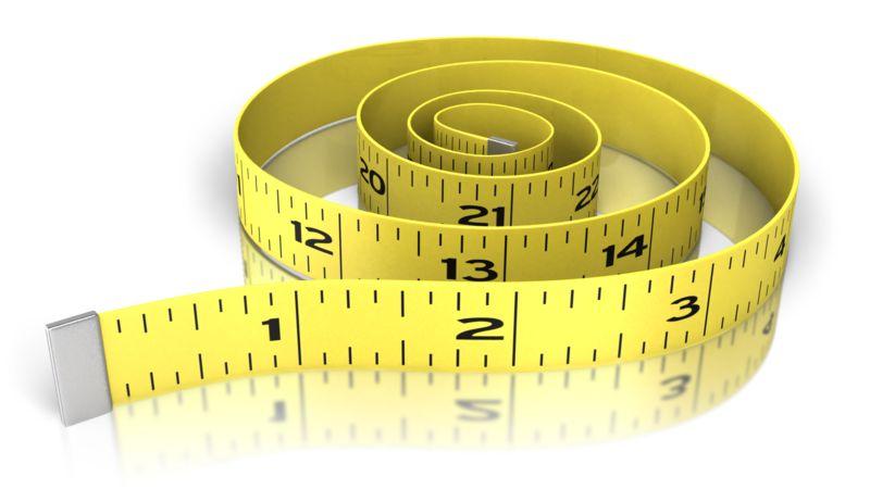 Clipart - Waist Exercise Tape Measure