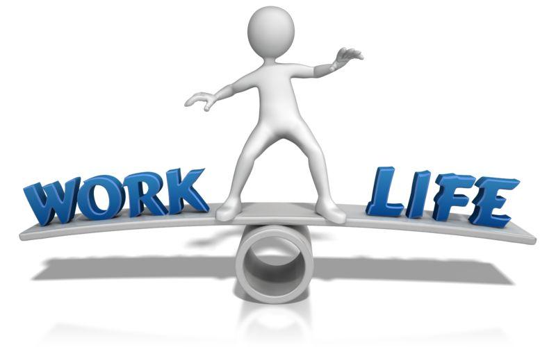 Clipart - Work Life Balance