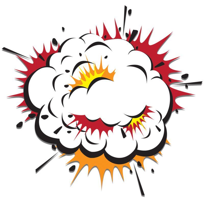 Clipart - Explosion Cloud Scraps