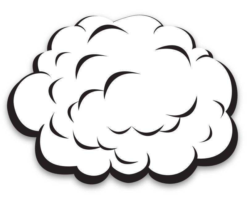 Clipart - Single Plain Cloud