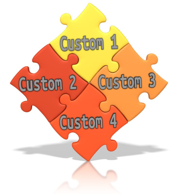 This Presentation Clipart shows a preview of Custom Puzzle Words