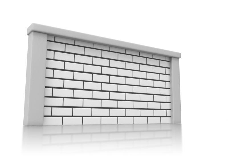 Clipart - Solid Brick Wall
