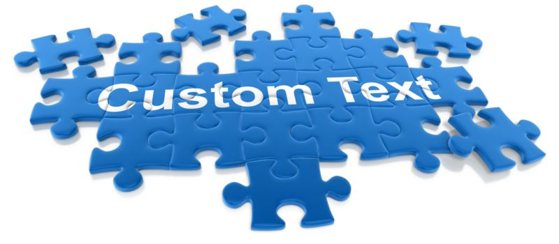 This Presentation Clipart shows a preview of Puzzle Pieces Custom