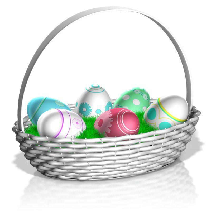 Clipart - Easter Basket