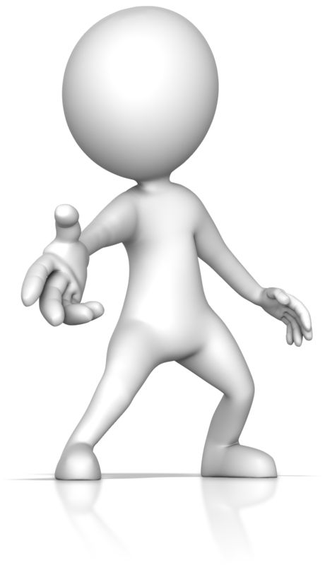 Clipart - Reaching Out with Helpful Hand