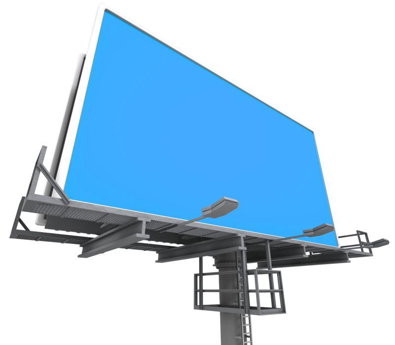 Clipart - Billboard Low Angle