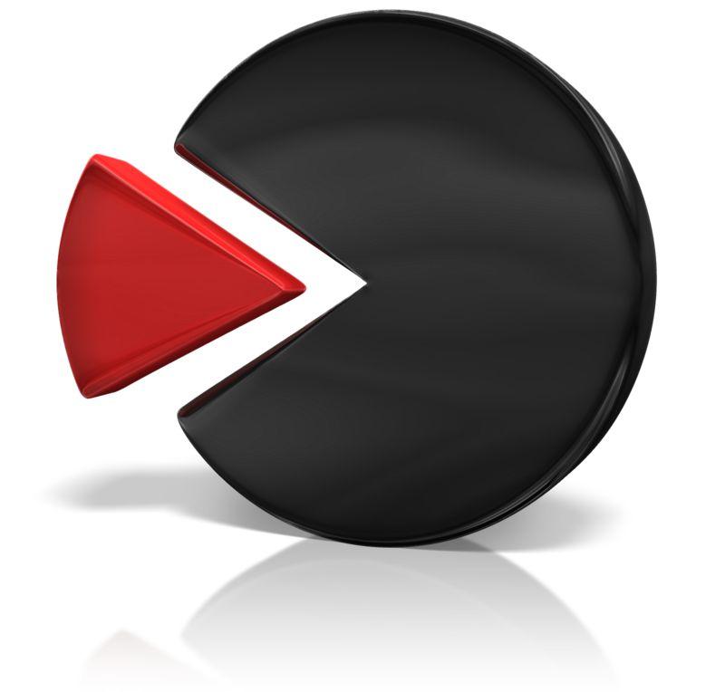 Clipart - Key Fit Pie Chart Piece