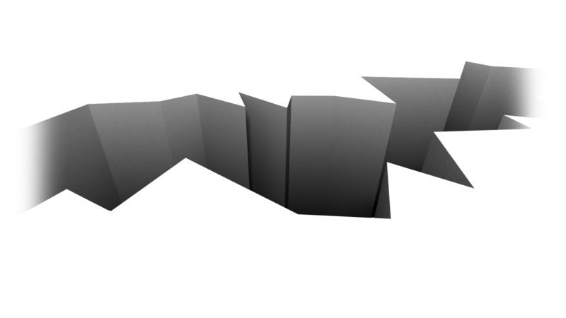 Clipart - Chasm