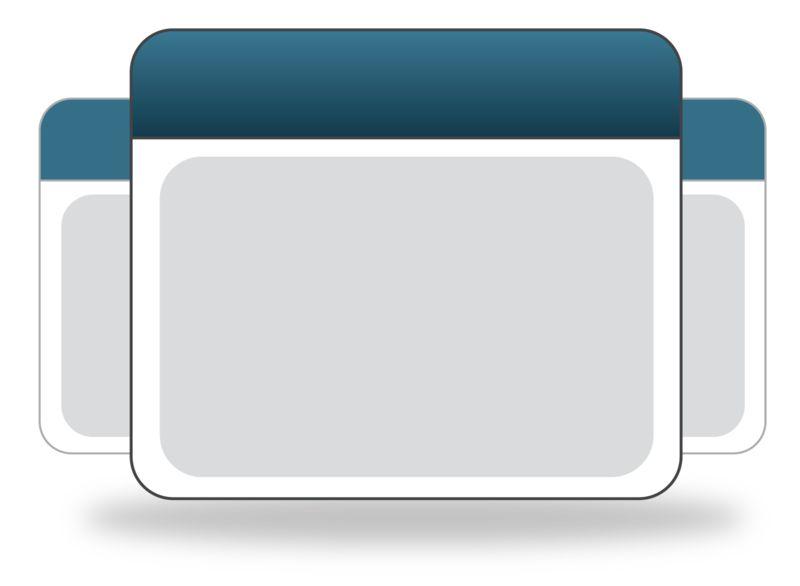 Clipart - Calendar Group Icon