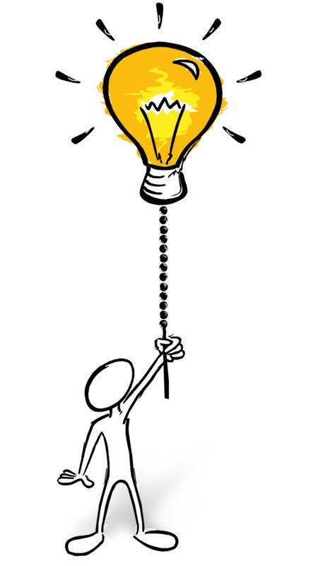 Clipart - Turn The Creativity On