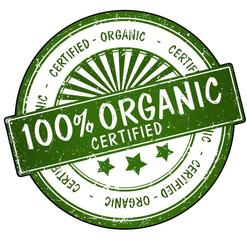 Clipart - 100% Organic Seal