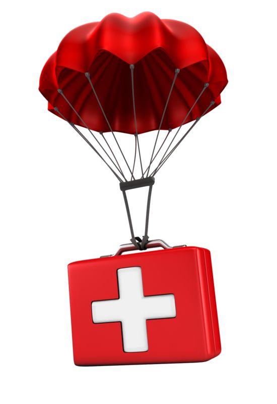 Clipart - Sending Medical Relief