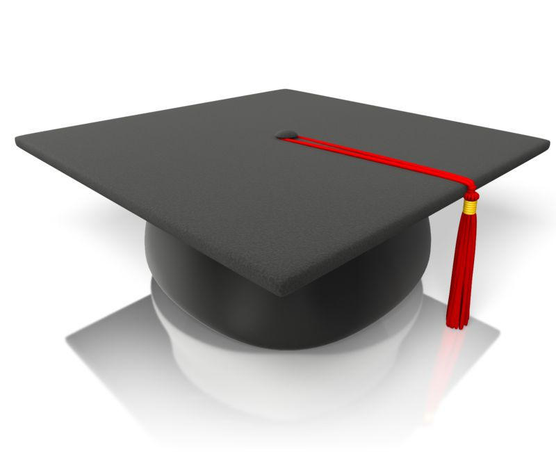 Clipart - Graduation Hat Mortarboard