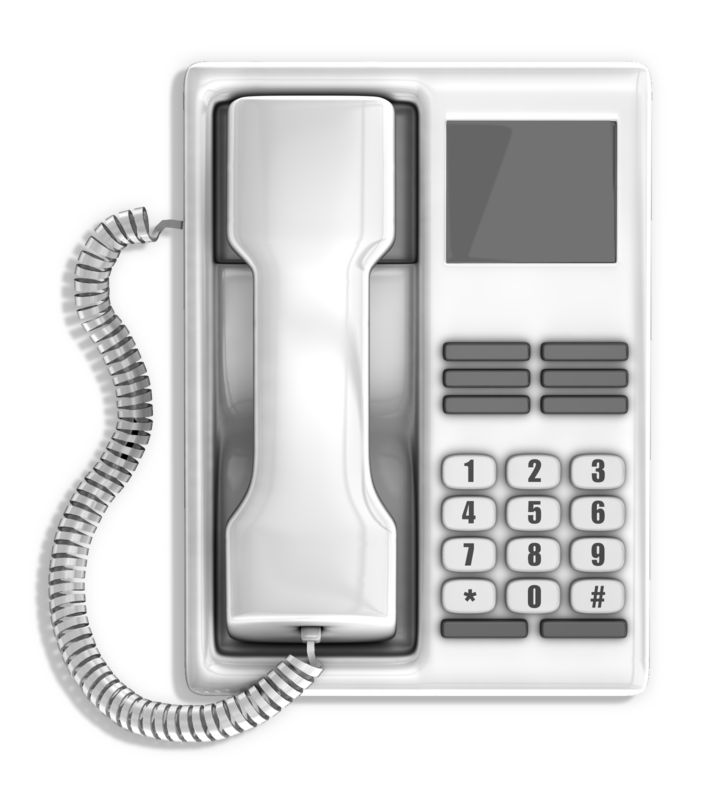 Clipart - Office Telephone