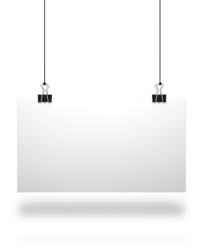 Clipart - White Board String