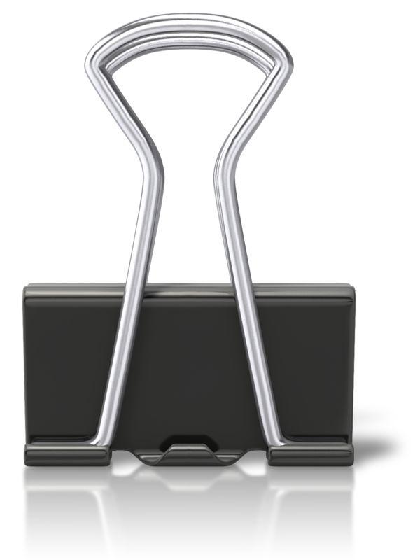 Clipart - Metal Black Clip