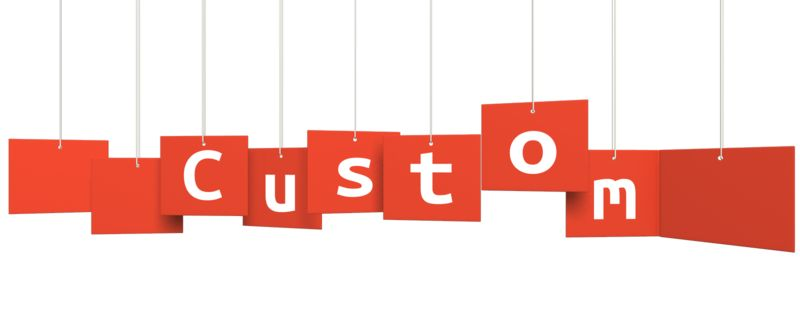 This Presentation Clipart shows a preview of Custom Multi Level Sign