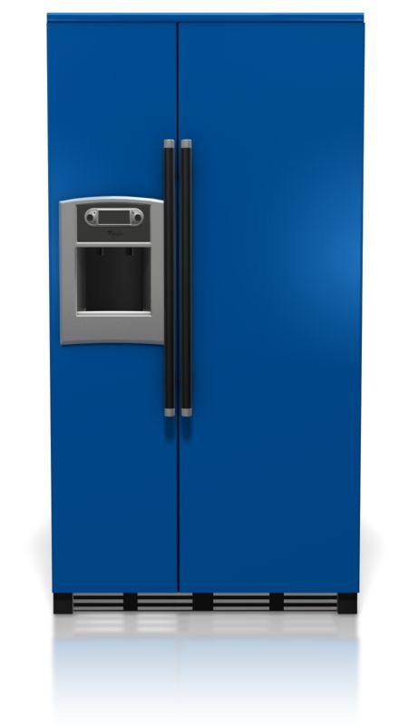 Clipart - Front Of Refrigerator