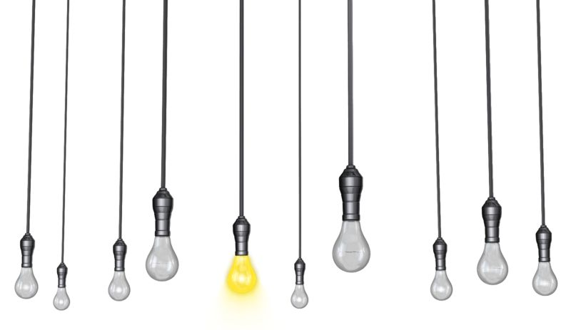 Clipart - Hanging Lights Standout