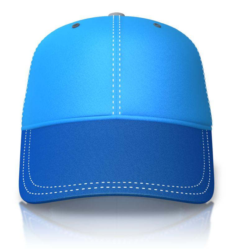 Clipart - Front of a Baseball Cap