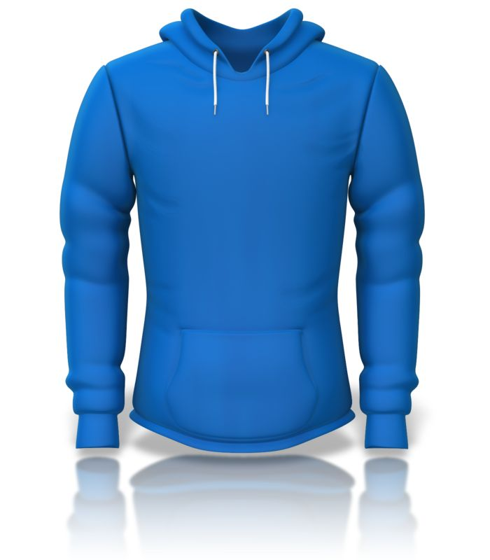 Clipart - Front of a Sweatshirt