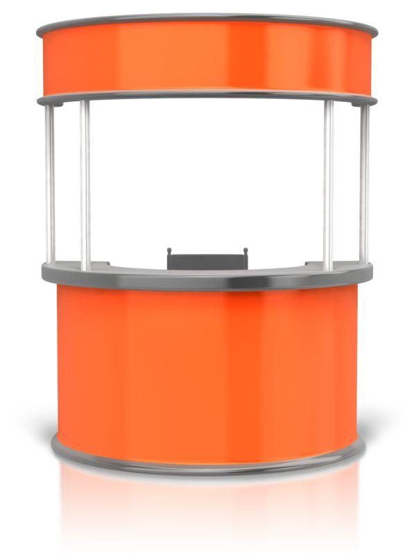Clipart - Circular Display Booth