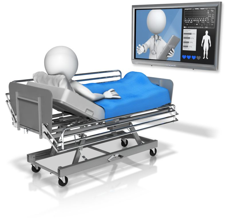 Clipart - Doctor Conference In With Patient