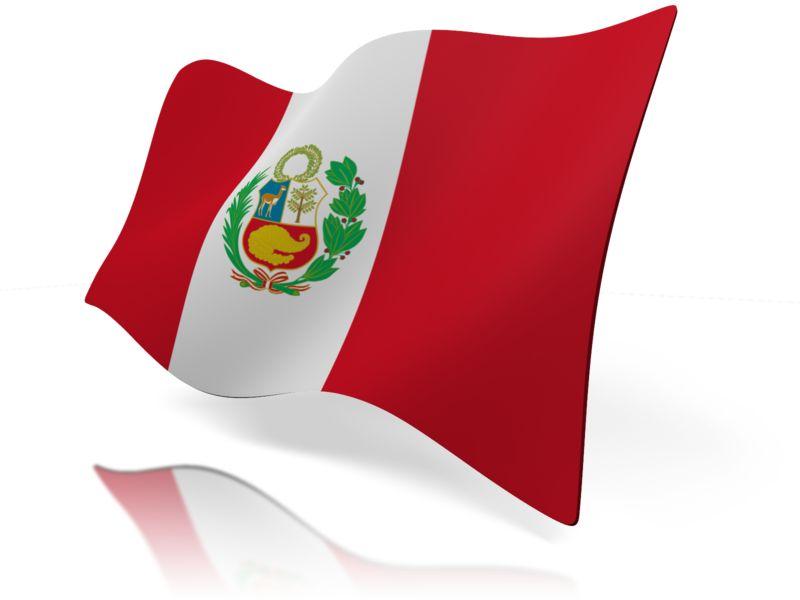 Clipart - Peru Flag