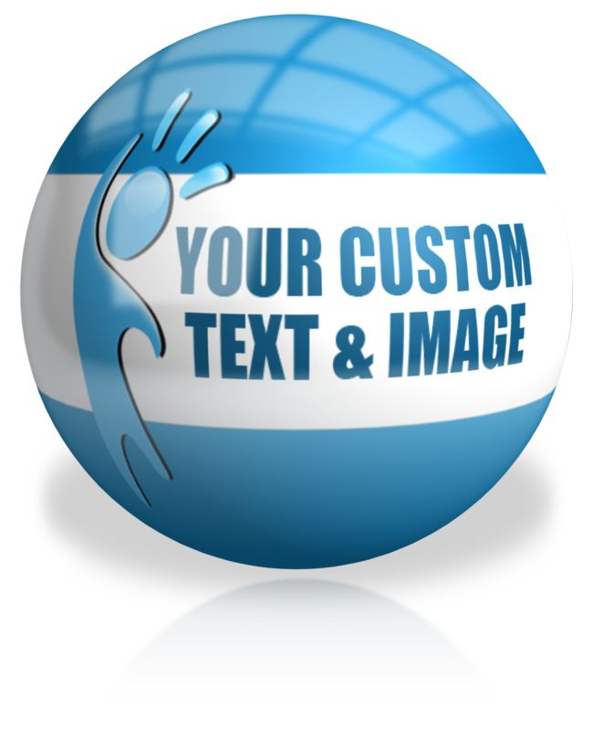 This Presentation Clipart shows a preview of Sphere Custom