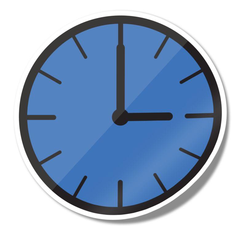 Clipart - Clock Icon Sticker