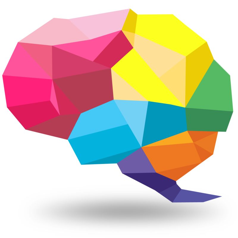 Clipart - Creative Shaped Brain