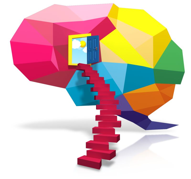 Clipart - Stairway To Ideas