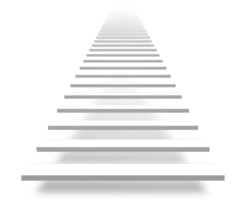 Clipart - Front Basic Stairs