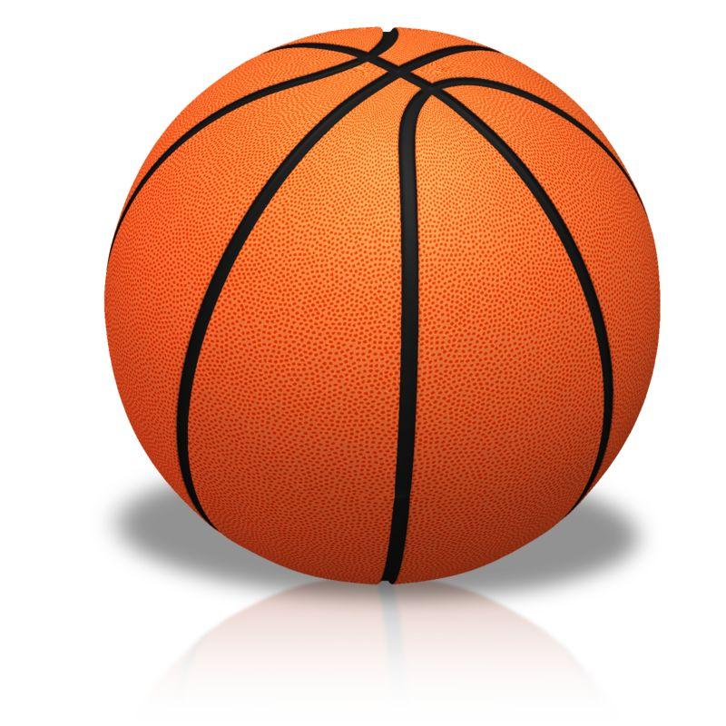 Clipart - Single Basketball