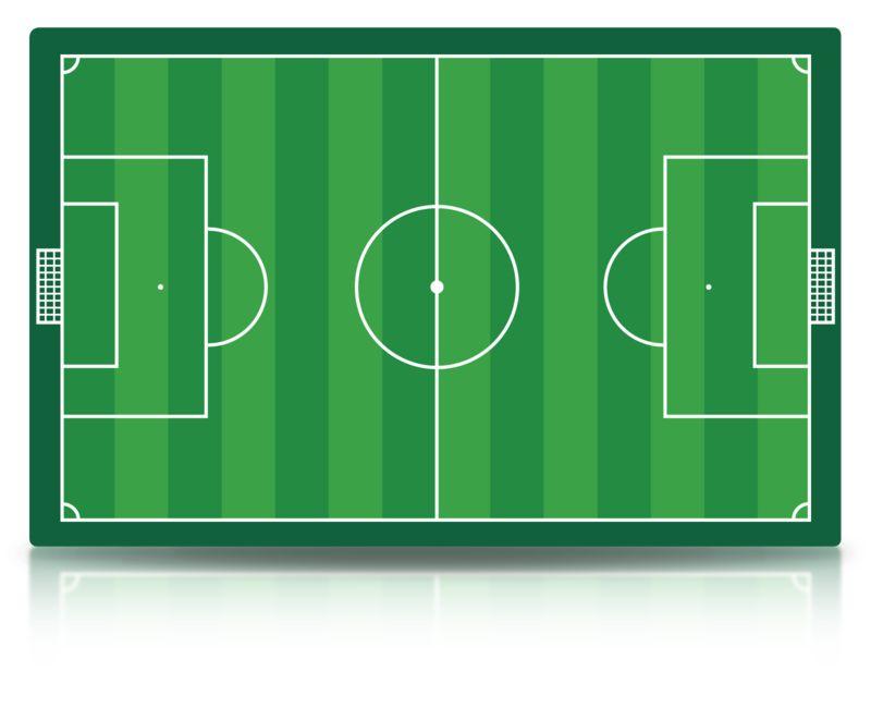 Clipart - Soccer Field